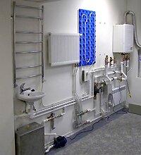 Монтаж водяного отопления в частном доме из полипропиленовых труб
