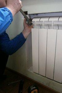 Установка радиаторов отопления, Киев